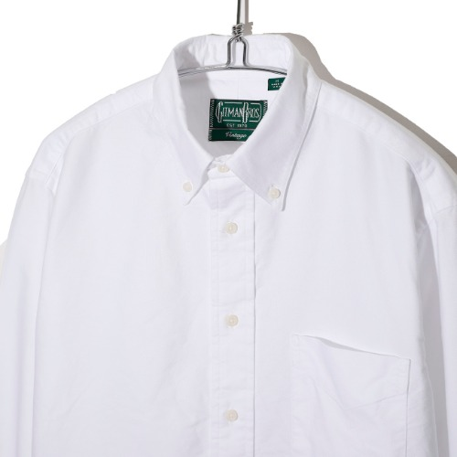 [Gitman Vintage] Oxford Shirt  (White)