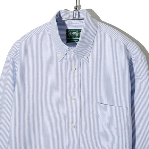[Gitman Vintage] Oxford Shirt  (Blue Stripe)