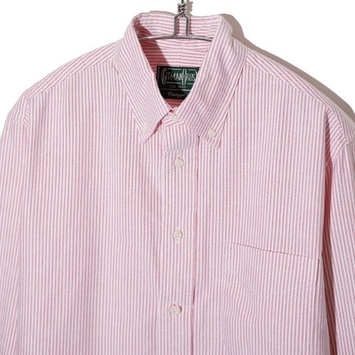 [Gitman Vintage] Oxford Shirt  (Red Stripe)