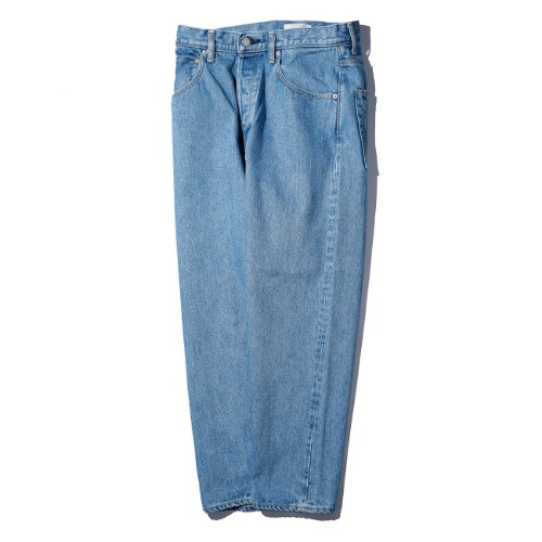 [HATSKI] Loose Tapered Pants (Ice Blue)