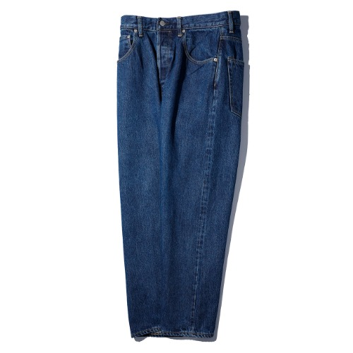 [HATSKI] Loose Tapered Pants (Blue)