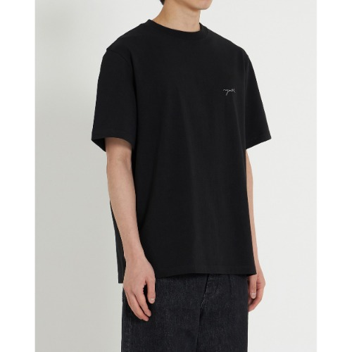 [YOUTH] H/S Logo T-Shirt (Black)