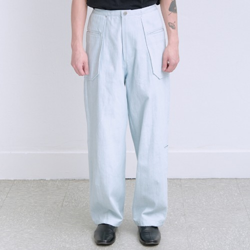 [polyteru] Liso Pants (Ice)