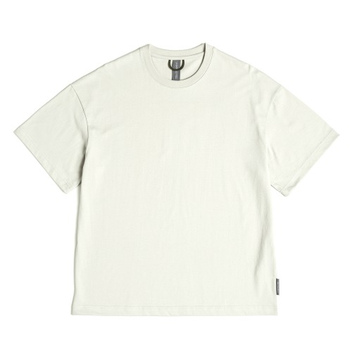 [UNAFFECTED] Logo Label T-Shirt (Light Grey)