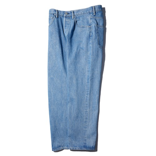 [HATSKI] Straight Denim Pants (Ice Blue)