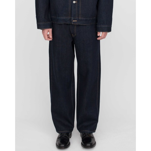 [MATISSE THE CURATOR] Wide Denim Pants (One-Washed)