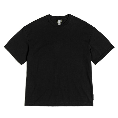 [UNAFFECTED] Logo Label T-Shirt (Black)