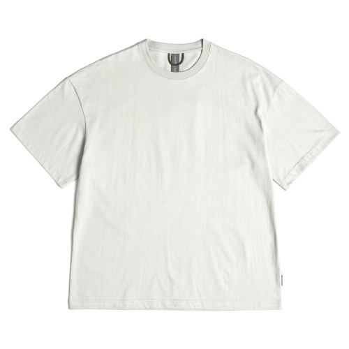 [UNAFFECTED] Logo Patch T-Shirt (Light Grey)
