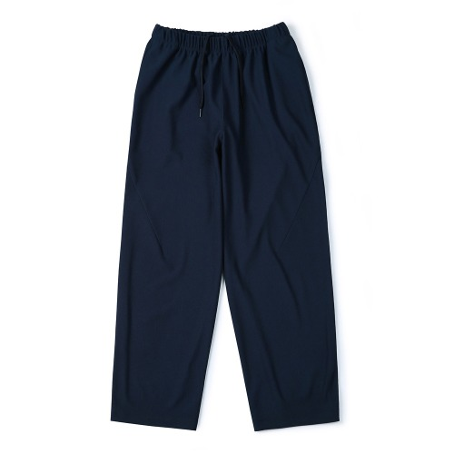 [SHIRTER] Rib Jersey Pants (Navy)