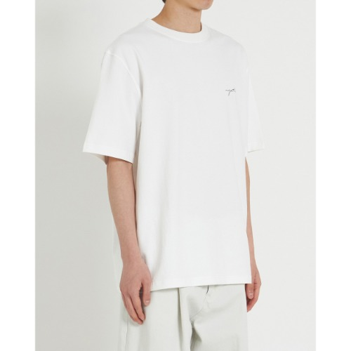 [YOUTH] H/S Logo T-Shirt (White)