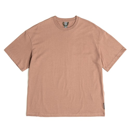 [UNAFFECTED] Logo Label T-Shirt (Salmon)