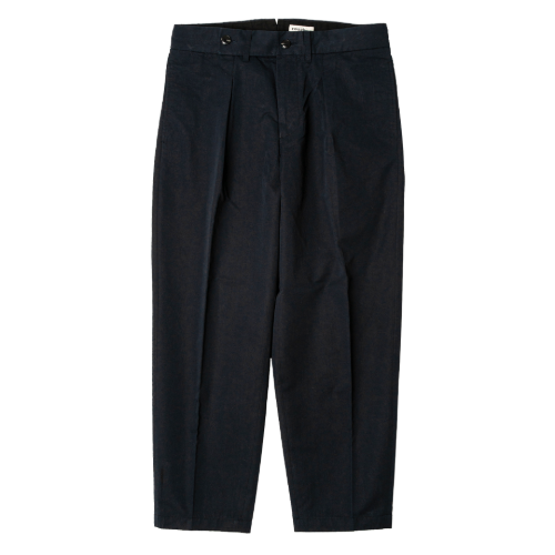 [rough side] Club Pants (Navy)