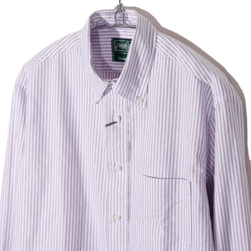 [Gitman Vintage] Oxford Shirt  (Purple Stripe)