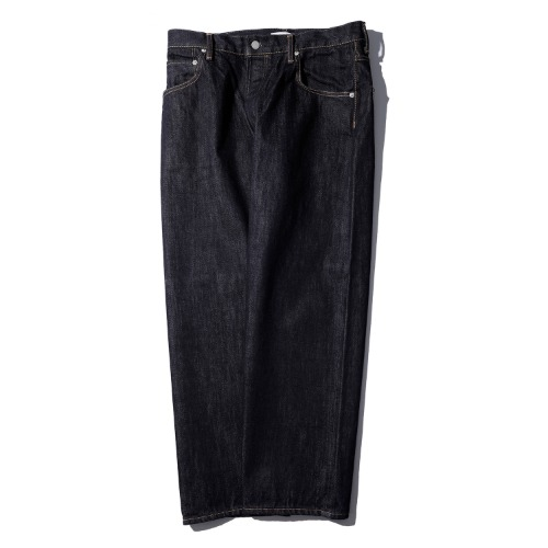 [HATSKI] Wide Tapered Denim Pants (One Wash)