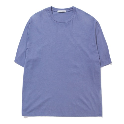 [POTTERY] Short Sleeve Basic T-Shirt (Slate Blue)