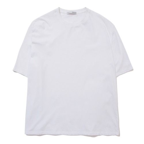 [POTTERY] Short Sleeve Basic T-Shirt (White)