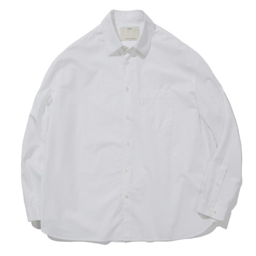 [POTTERY] Wide Shirt (White)