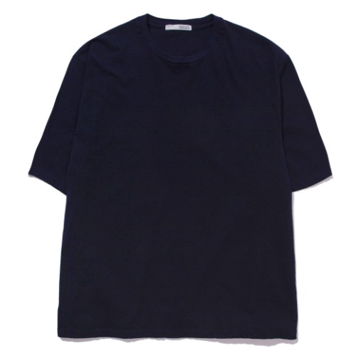 [POTTERY] Short Sleeve Basic T-Shirt (Navy)
