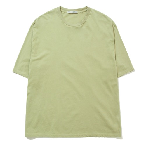 [POTTERY] Short Sleeve Basic T-Shirt (Light Green)