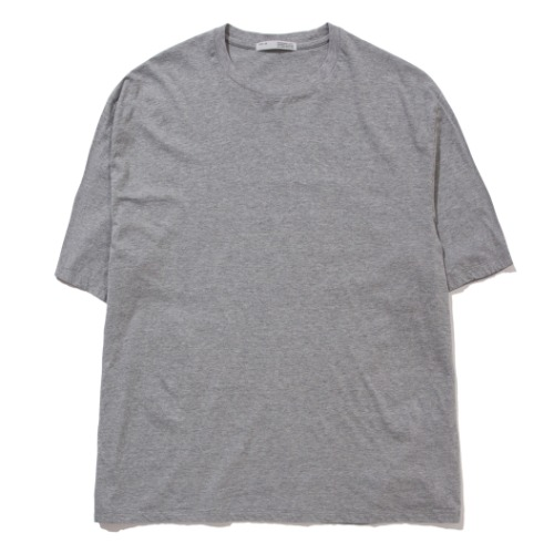 [POTTERY] Short Sleeve Basic T-Shirt (Light Gray)